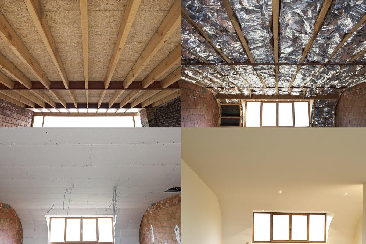 Geluidsisolatie plafond: Materialen & prijzen