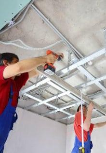 verlaagd plafond geluidsisolatie